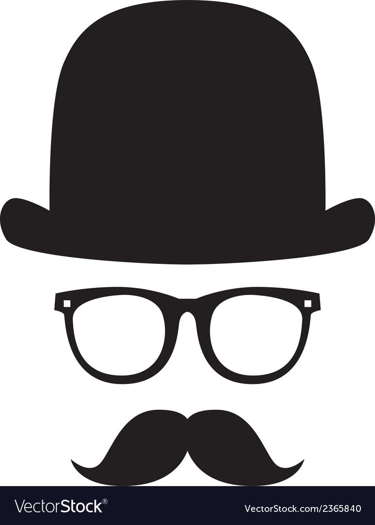 Gentleman portrait vector | Price: 1 Credit (USD $1)