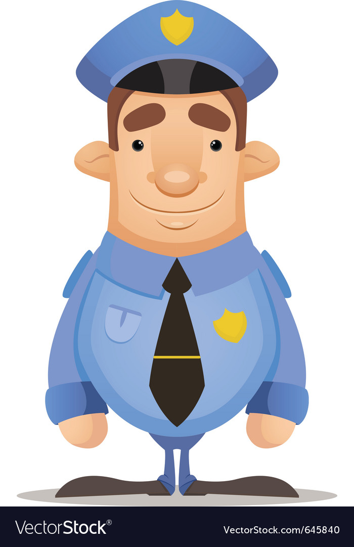 Police officer vector | Price: 3 Credit (USD $3)