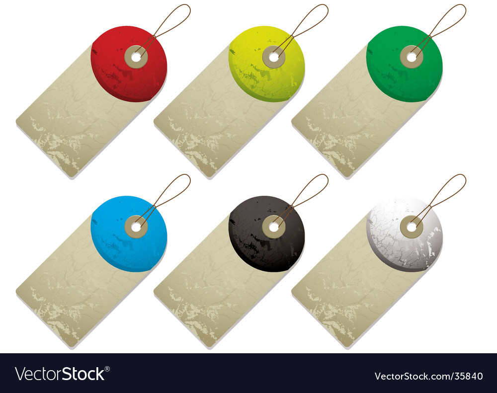 Semi tag vector | Price: 1 Credit (USD $1)
