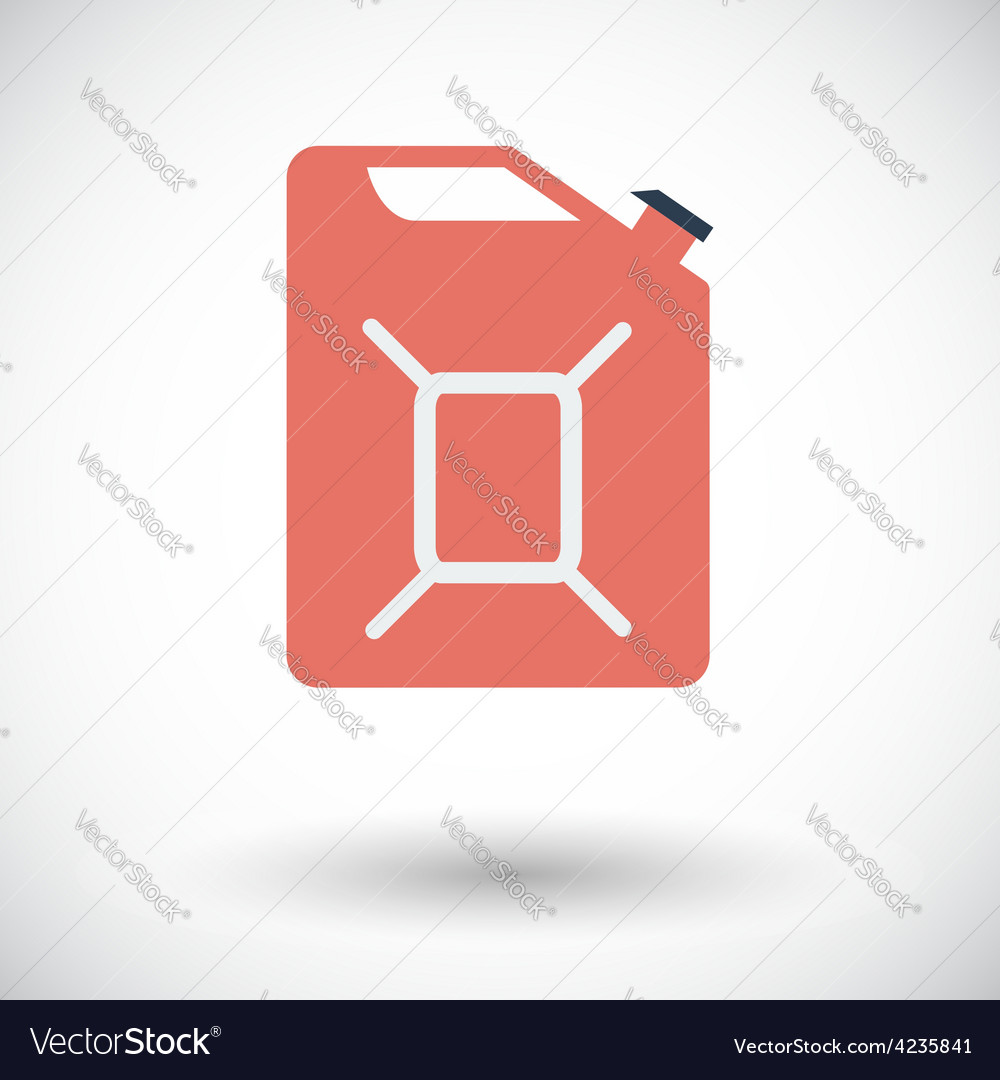 Gas containers icon vector | Price: 1 Credit (USD $1)