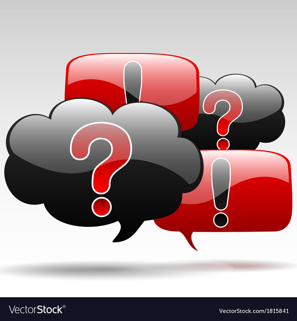 Question-exclamation vector   Price: 1 Credit (USD $1)