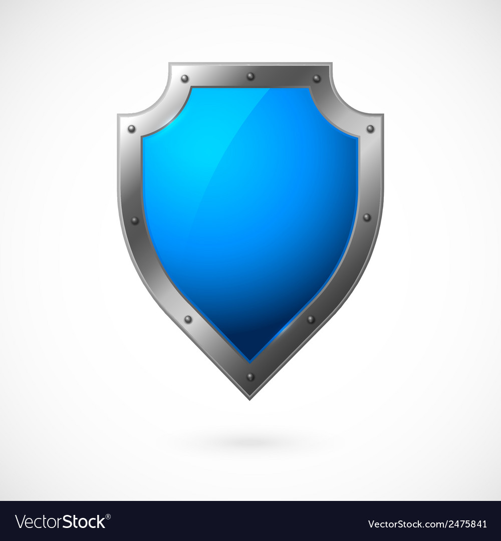 Shield icon isolated vector | Price: 1 Credit (USD $1)