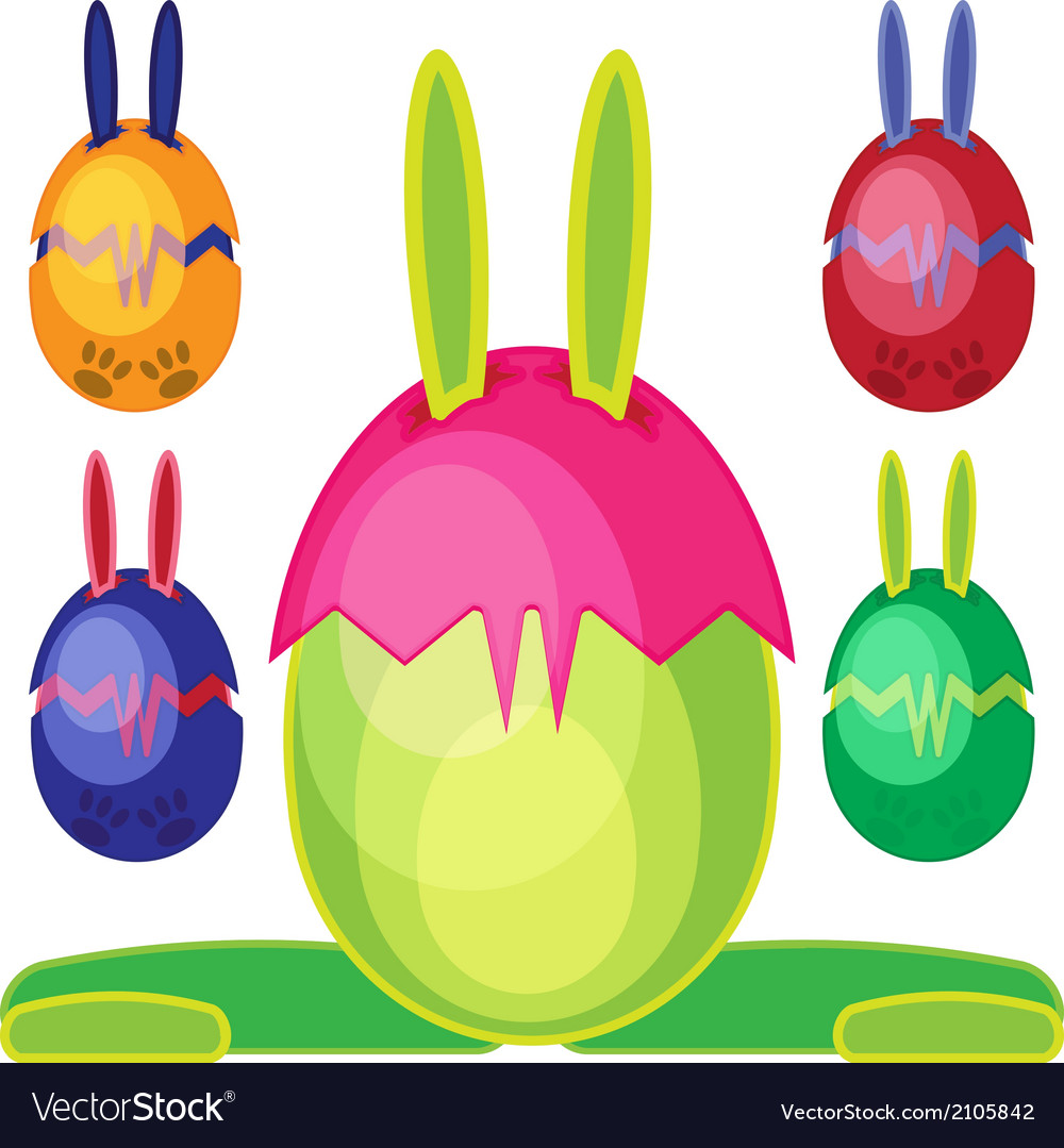 Bunn egg mons06 vector | Price: 1 Credit (USD $1)