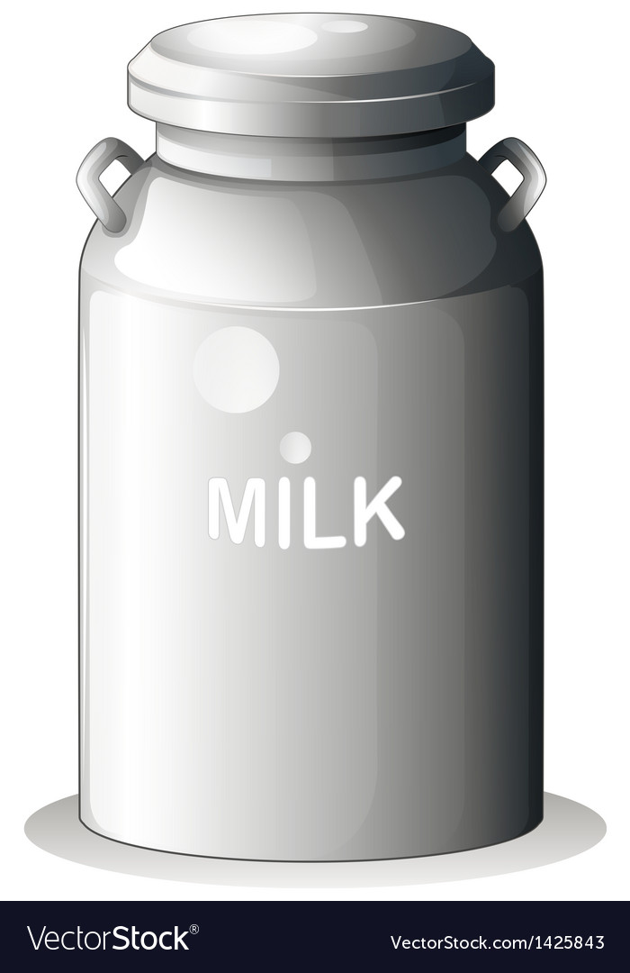 A canned fresh milk vector | Price: 1 Credit (USD $1)