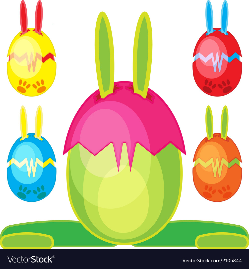 Bunn egg mons07 vector | Price: 1 Credit (USD $1)
