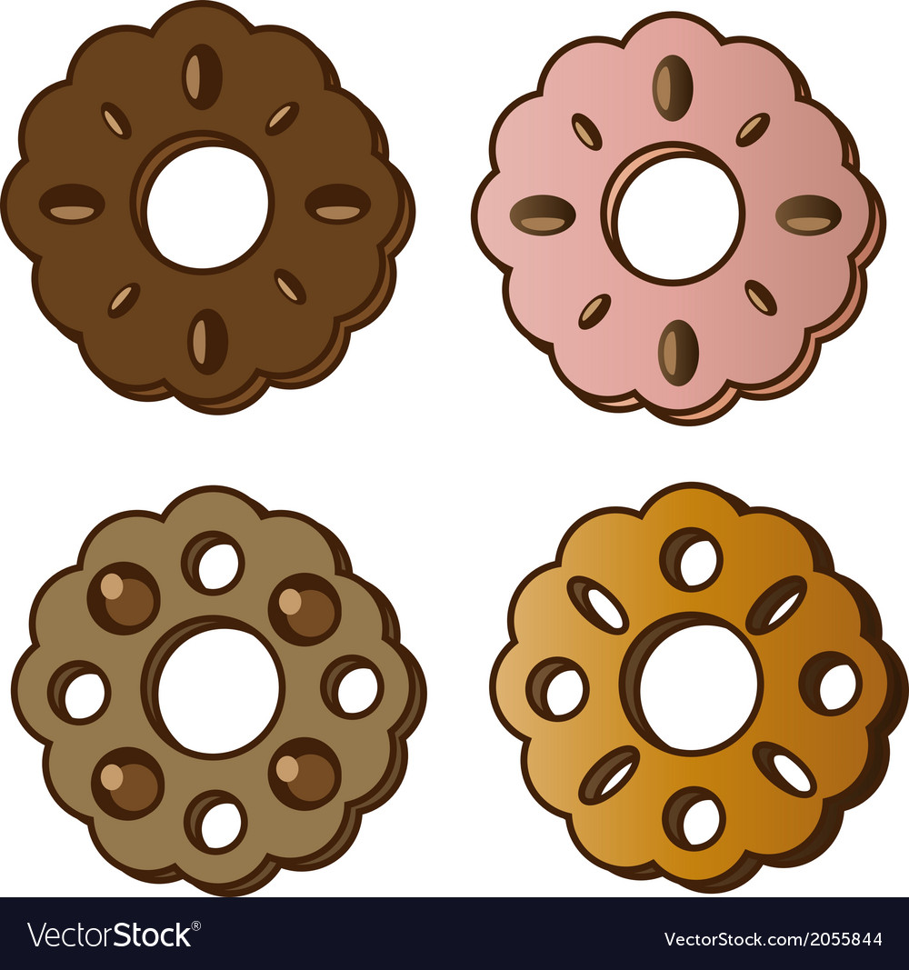 Cookie vector | Price: 1 Credit (USD $1)