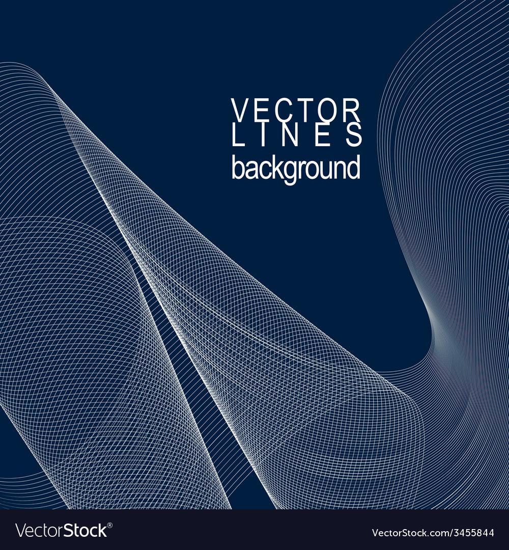 Dark striped decorative wavy template background vector | Price: 1 Credit (USD $1)