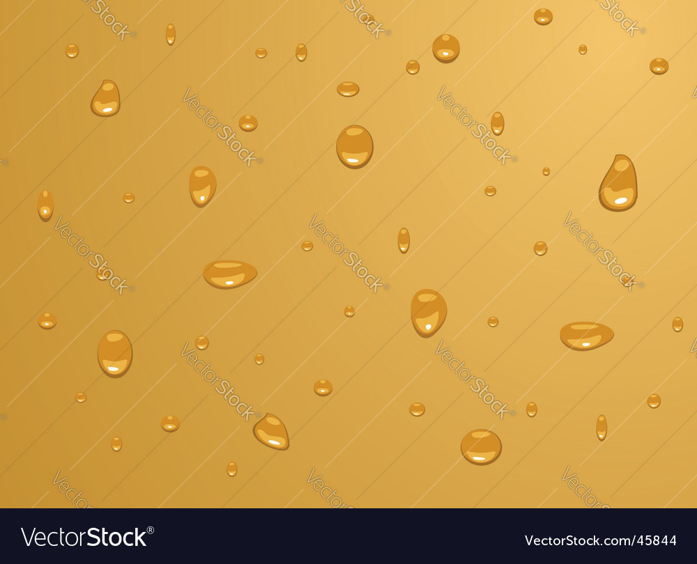 Water drops vector | Price: 1 Credit (USD $1)