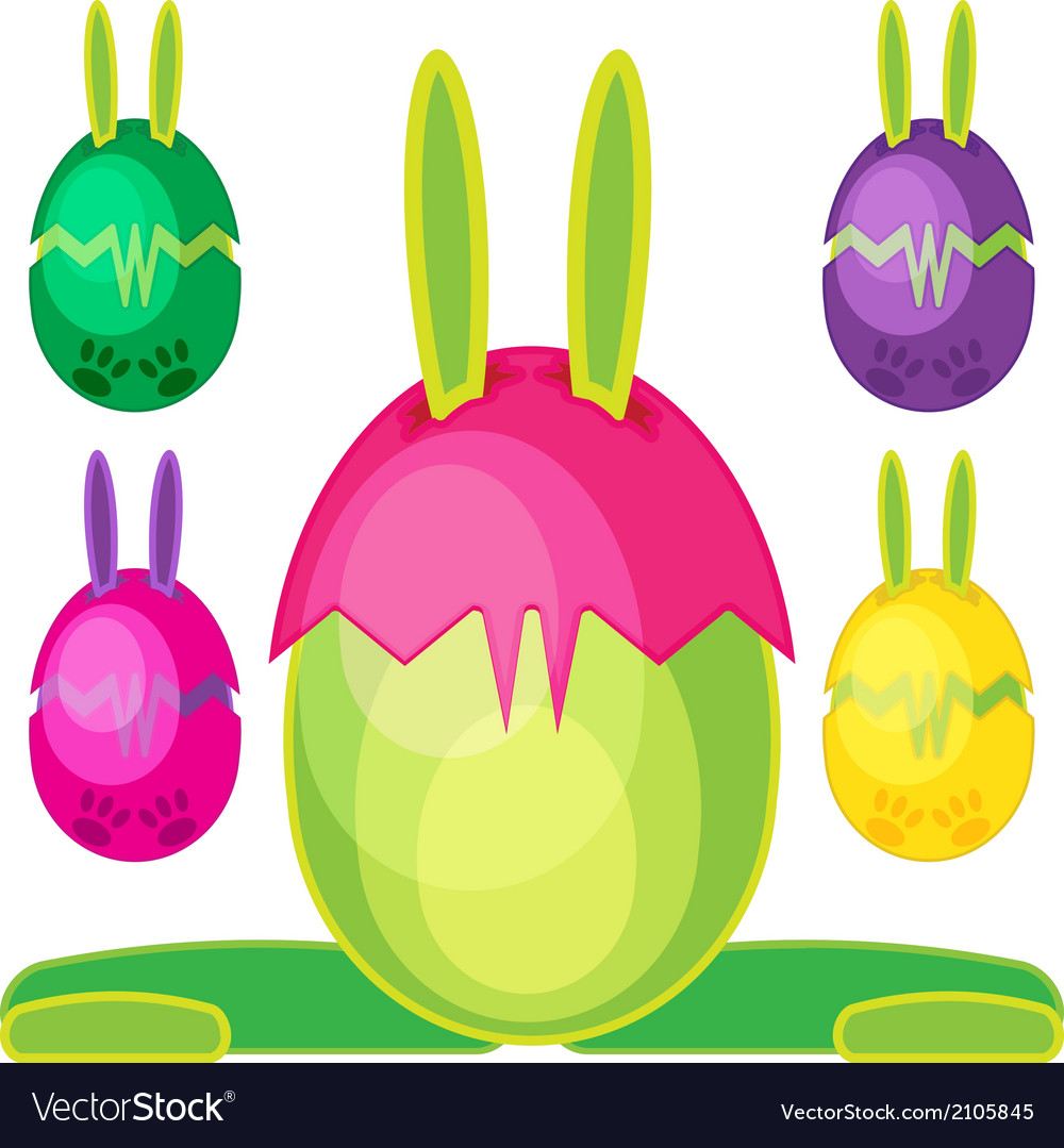 Bunn egg mons08 vector | Price: 1 Credit (USD $1)