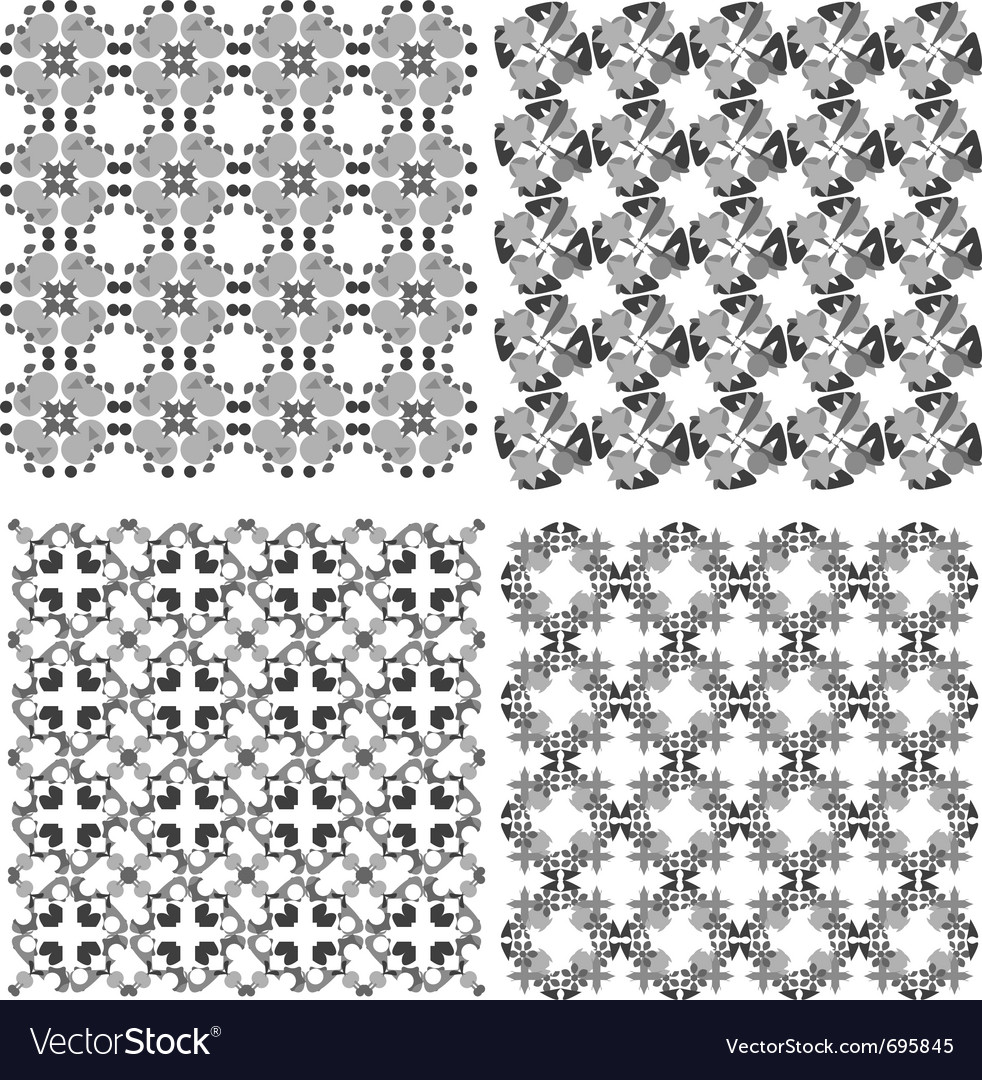 Funky geometrical seamless vector | Price: 1 Credit (USD $1)
