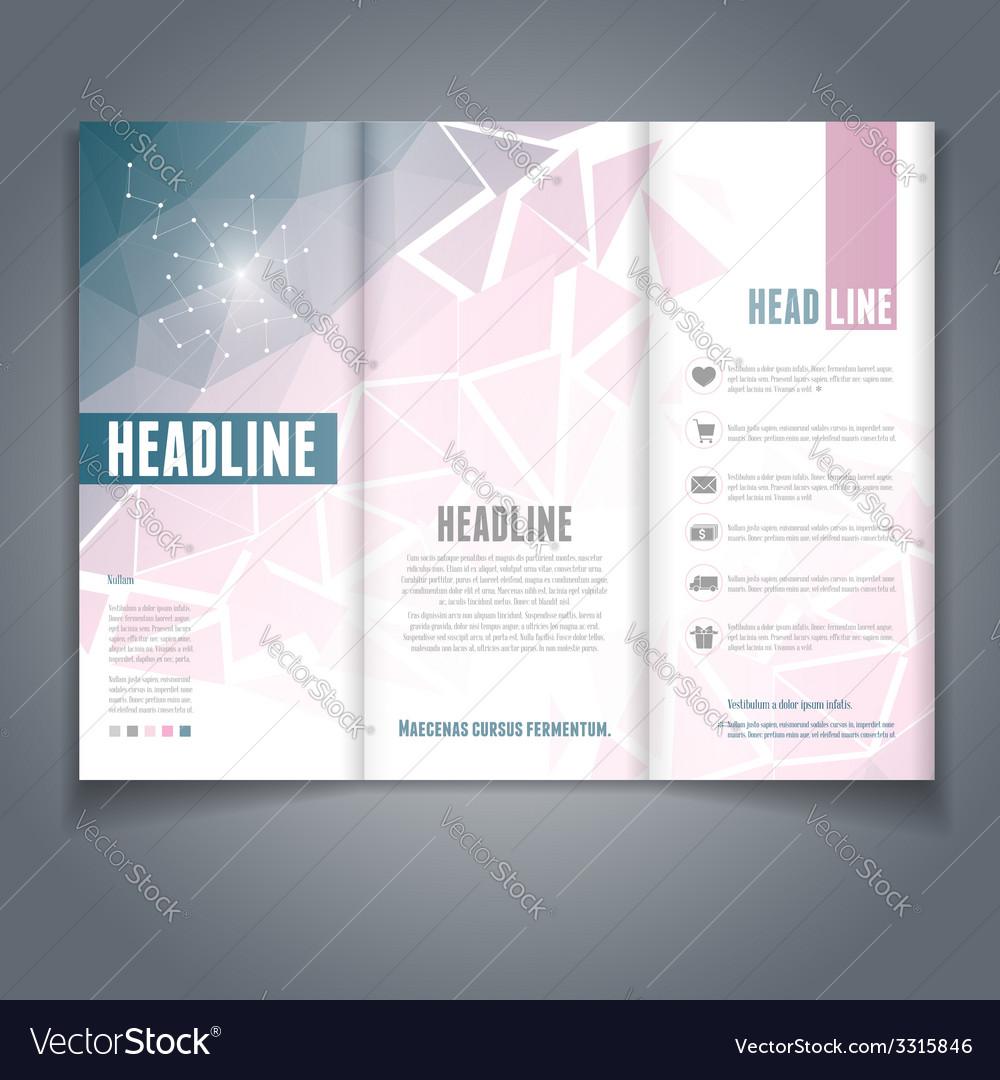 Broshure template vector | Price: 1 Credit (USD $1)