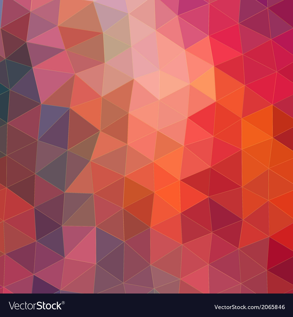 Retro pattern of geometric shapes triangle vector | Price: 1 Credit (USD $1)