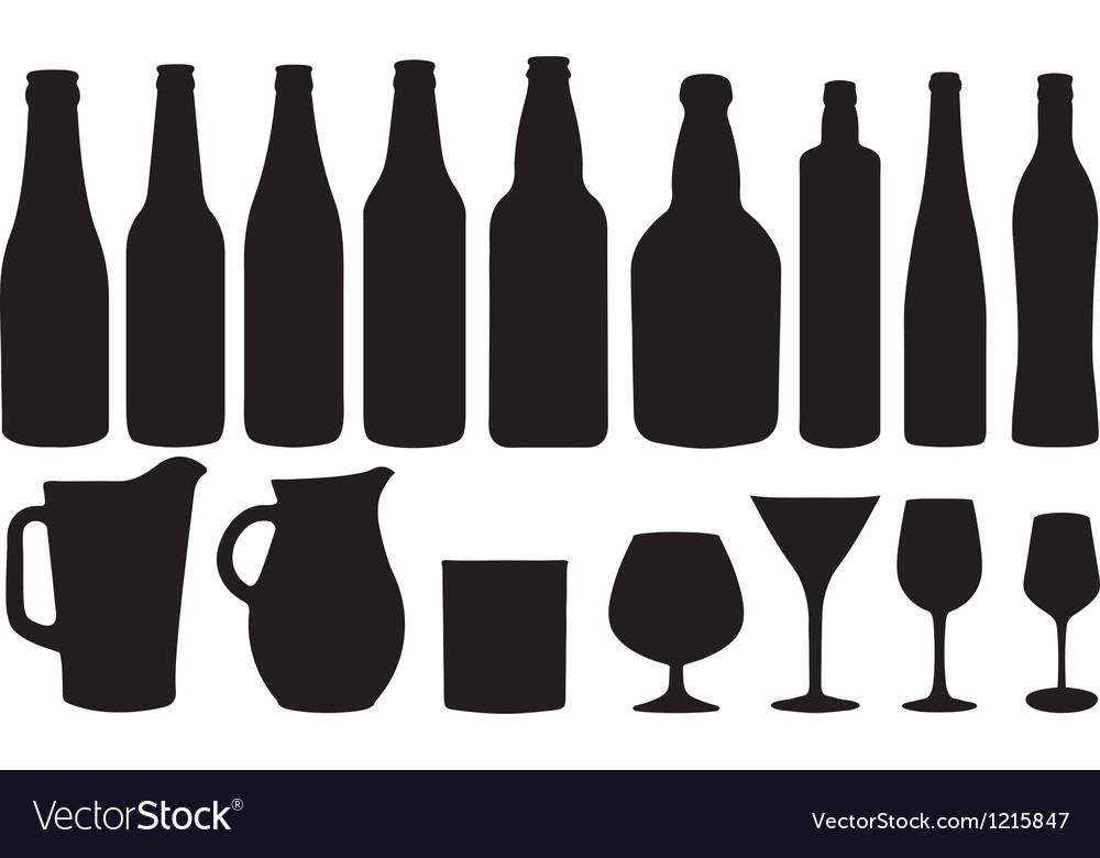 Glassware vector | Price: 1 Credit (USD $1)