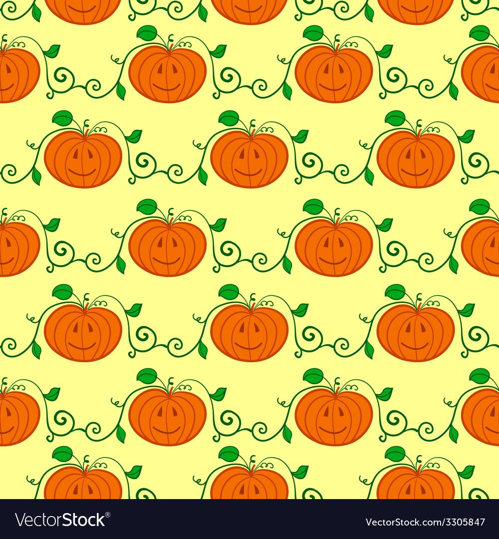 Halloween seamless pattern vector | Price: 1 Credit (USD $1)