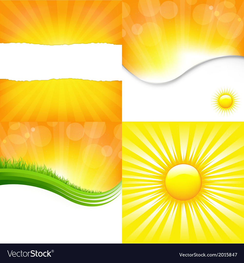 Shiny backgrounds set vector | Price: 1 Credit (USD $1)