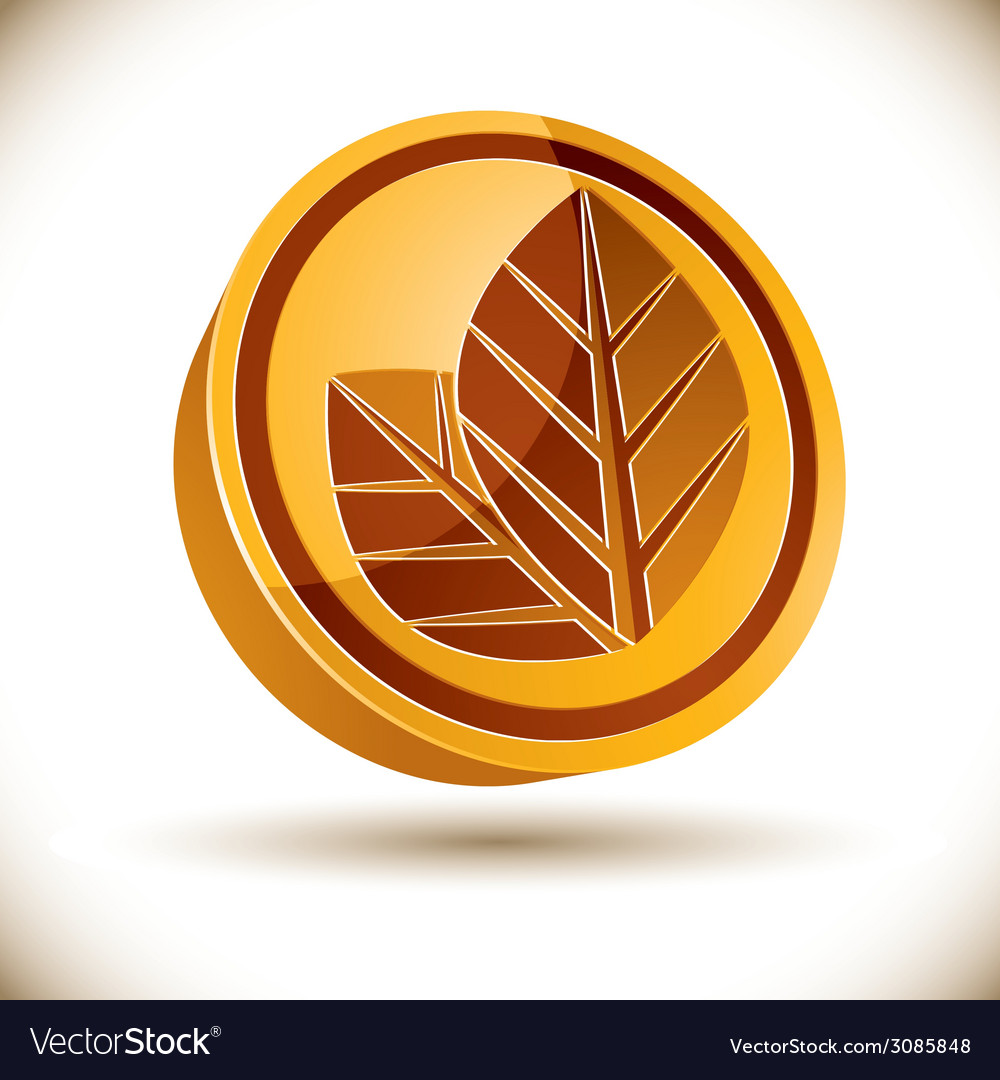 Autumn leaves icon vector   Price: 1 Credit (USD $1)
