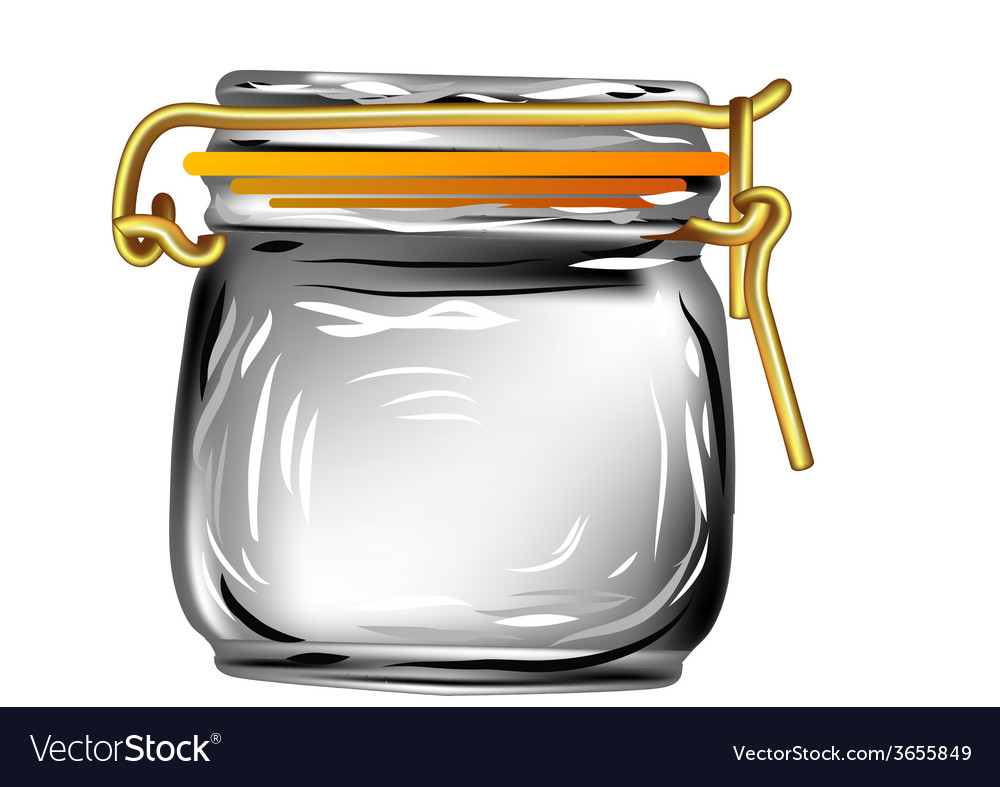 Canning jar vector | Price: 1 Credit (USD $1)