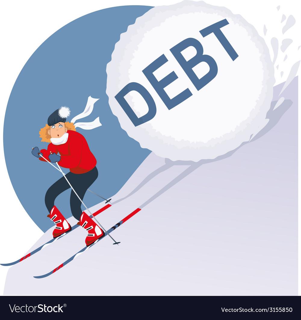 Holiday debt vector   Price: 1 Credit (USD $1)