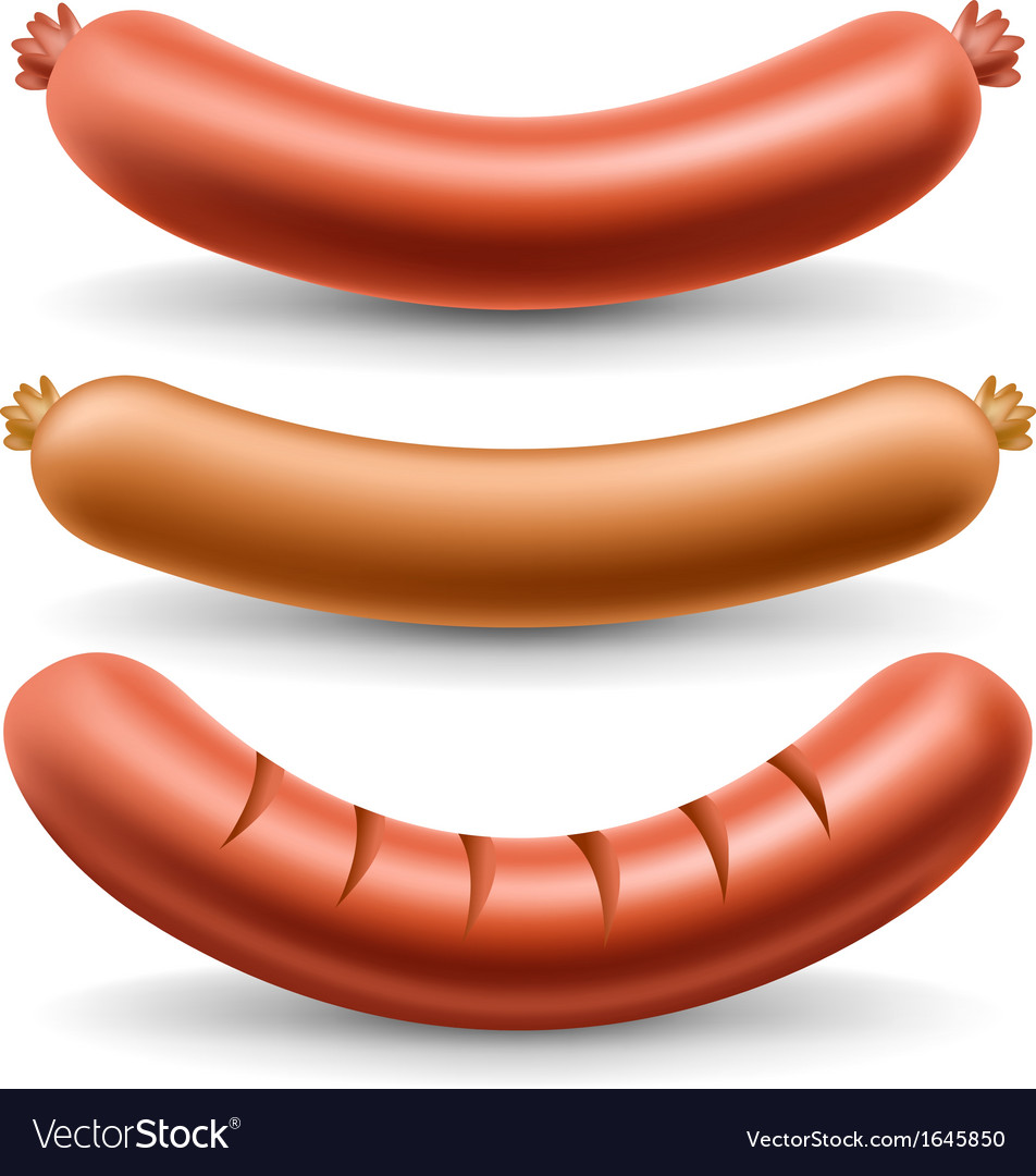 Sausage set vector | Price: 1 Credit (USD $1)