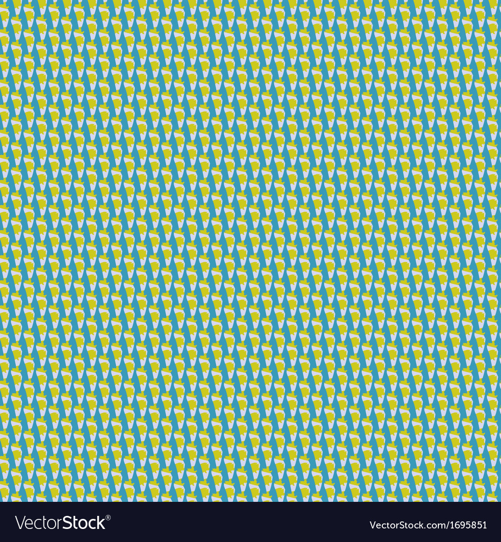 Minimalistic geometric pattern in spring colors vector | Price: 1 Credit (USD $1)