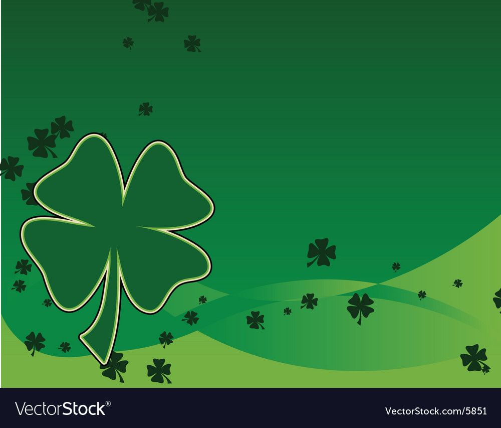 St patrick's day background vector | Price: 1 Credit (USD $1)