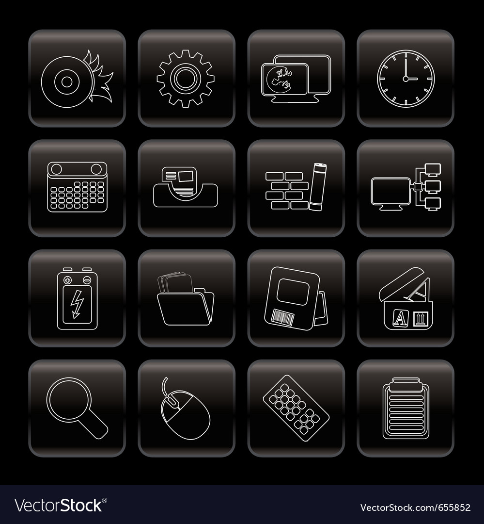 Computer and mobile phone vector | Price: 1 Credit (USD $1)