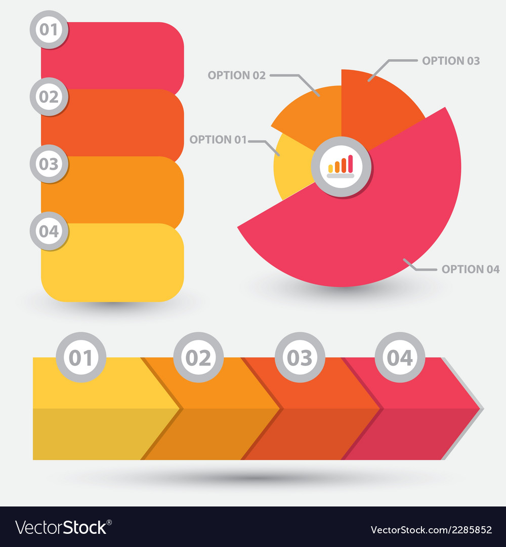 Infographic element design vector | Price: 1 Credit (USD $1)