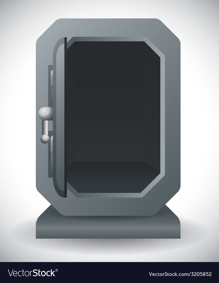Security box design vector | Price: 1 Credit (USD $1)
