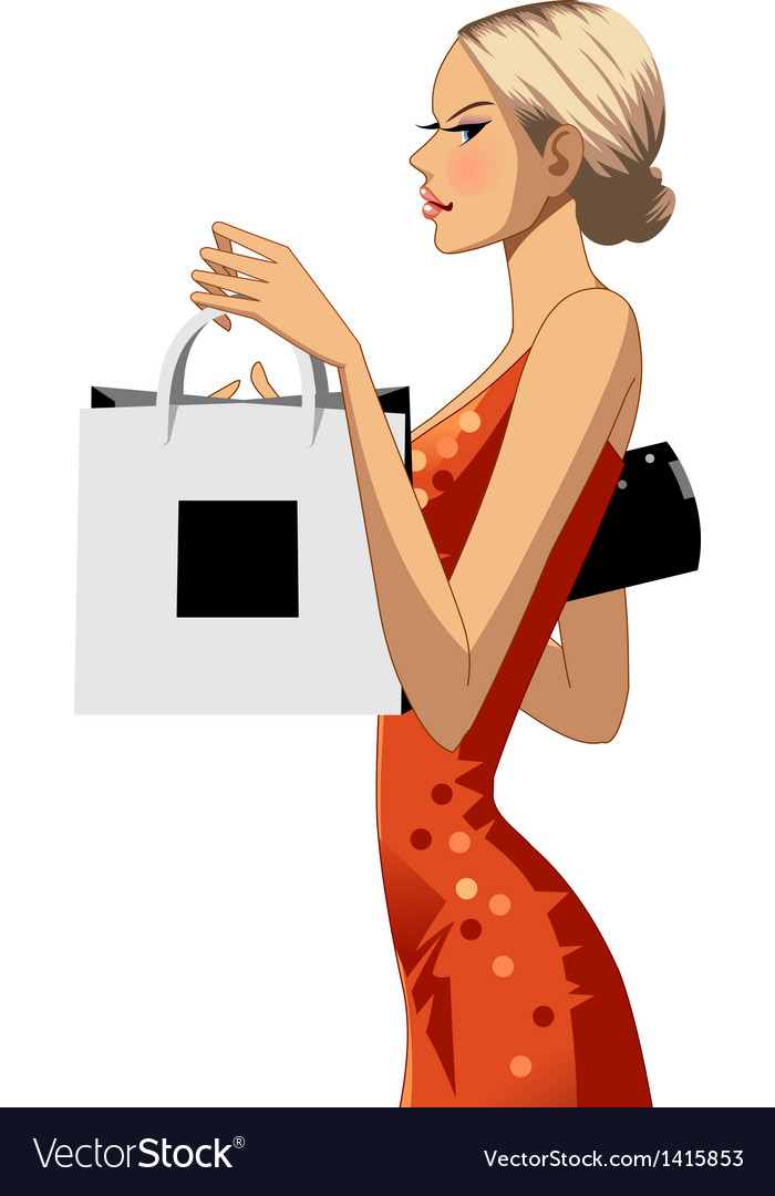 Fashion shopping vector | Price: 3 Credit (USD $3)