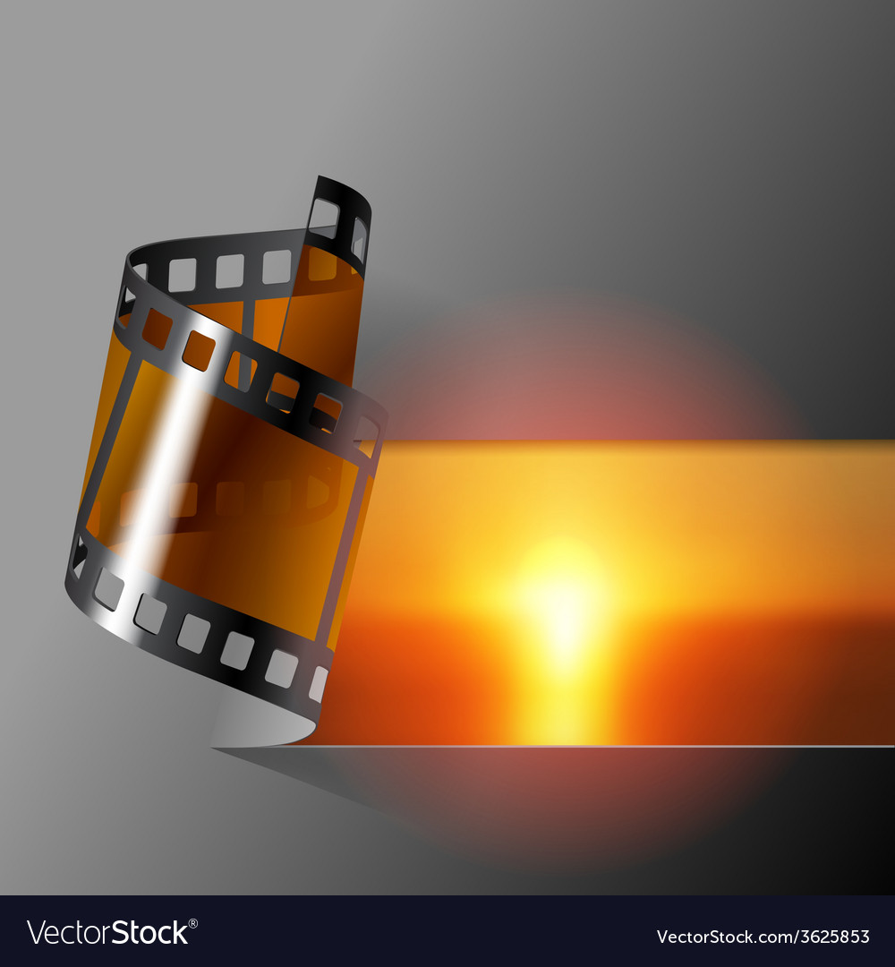 Film banner vector | Price: 1 Credit (USD $1)