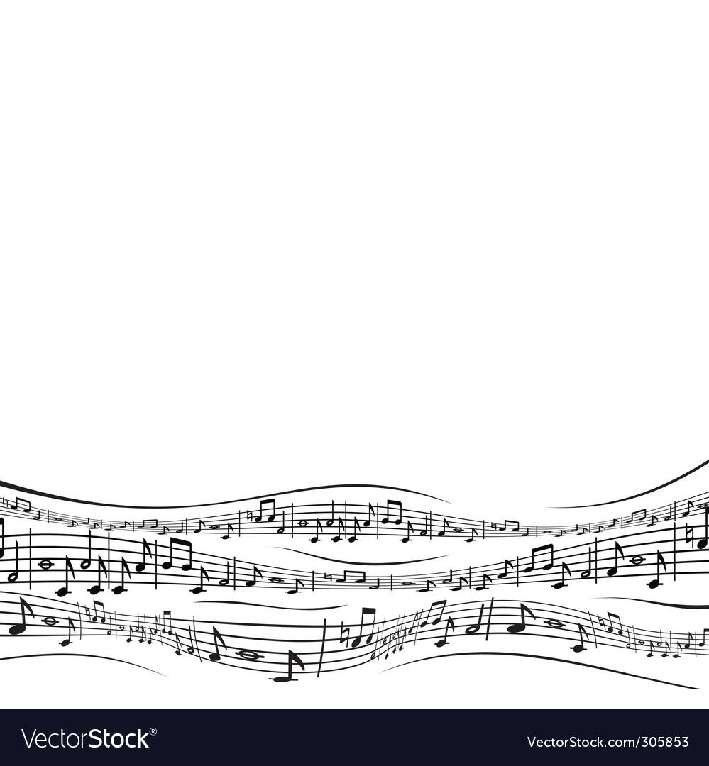 Musical sheet vector | Price: 1 Credit (USD $1)