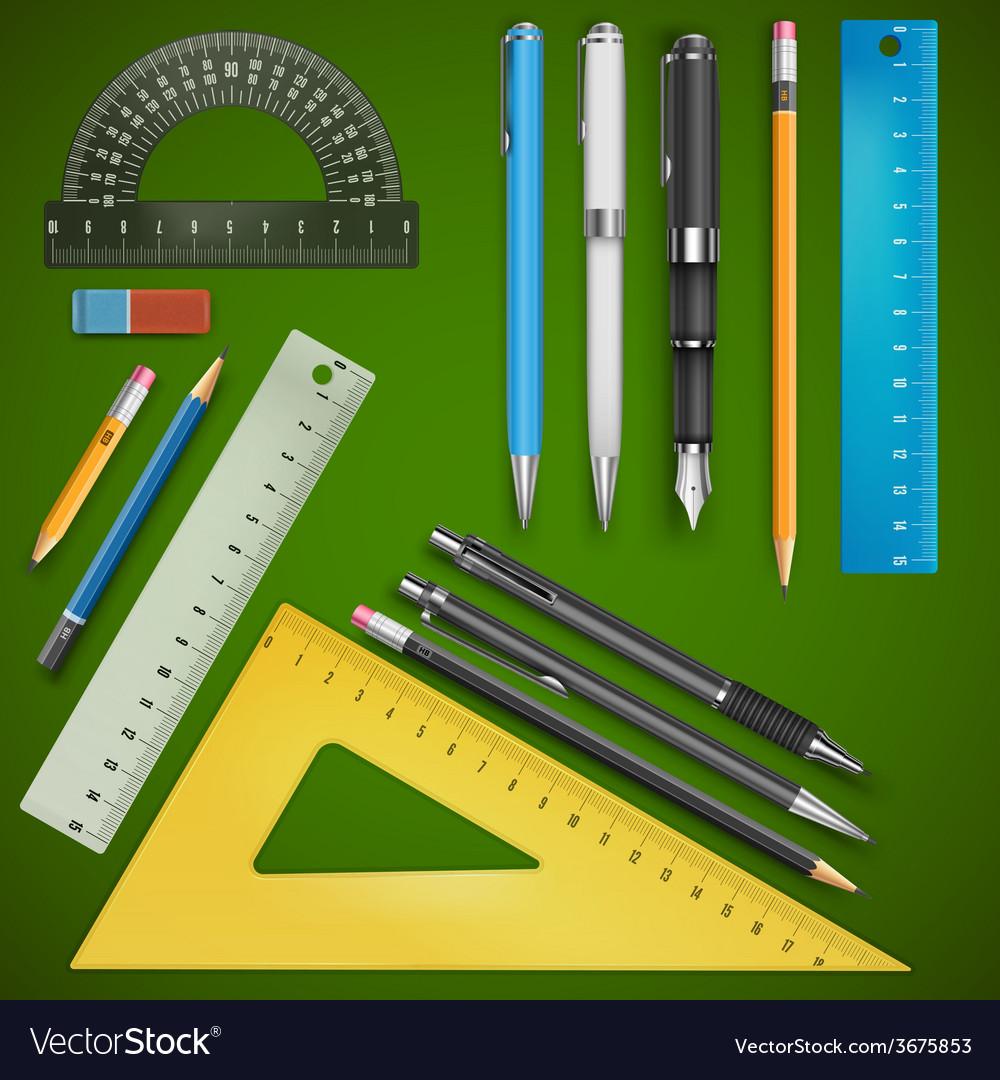School drawing vector | Price: 1 Credit (USD $1)
