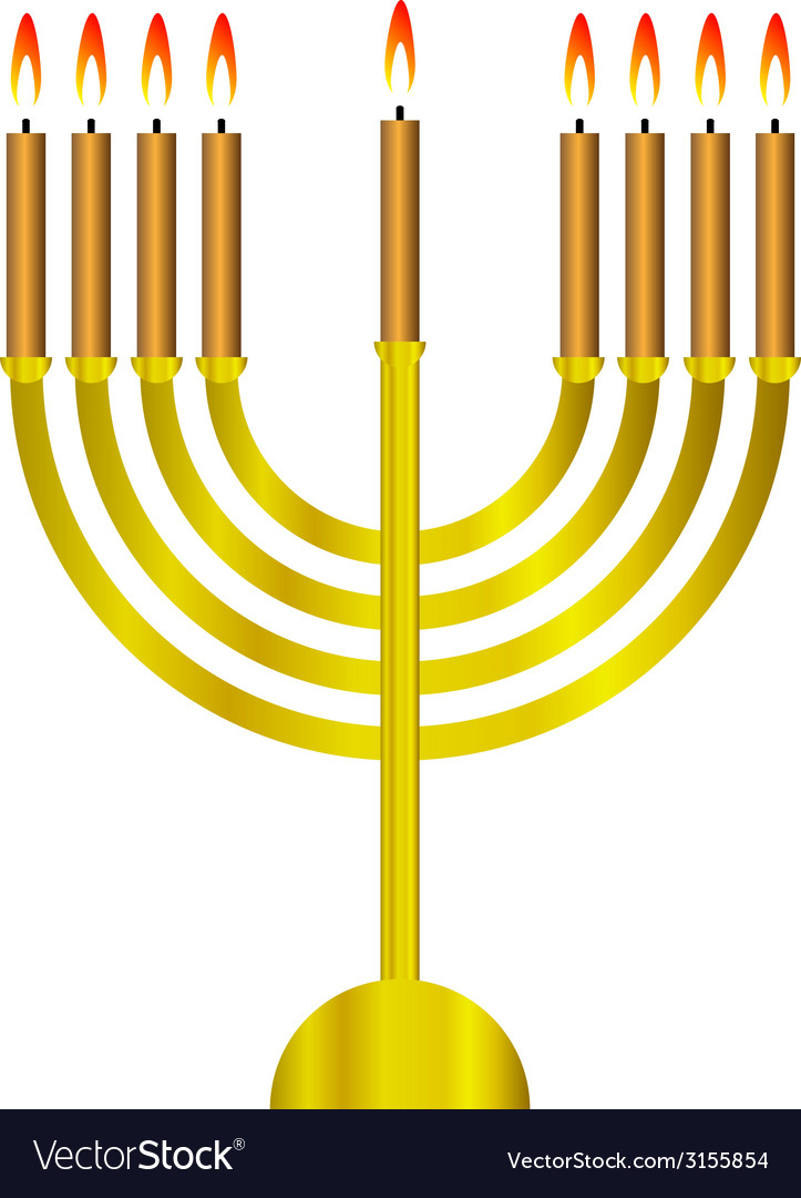 Chanukah icon vector | Price: 1 Credit (USD $1)