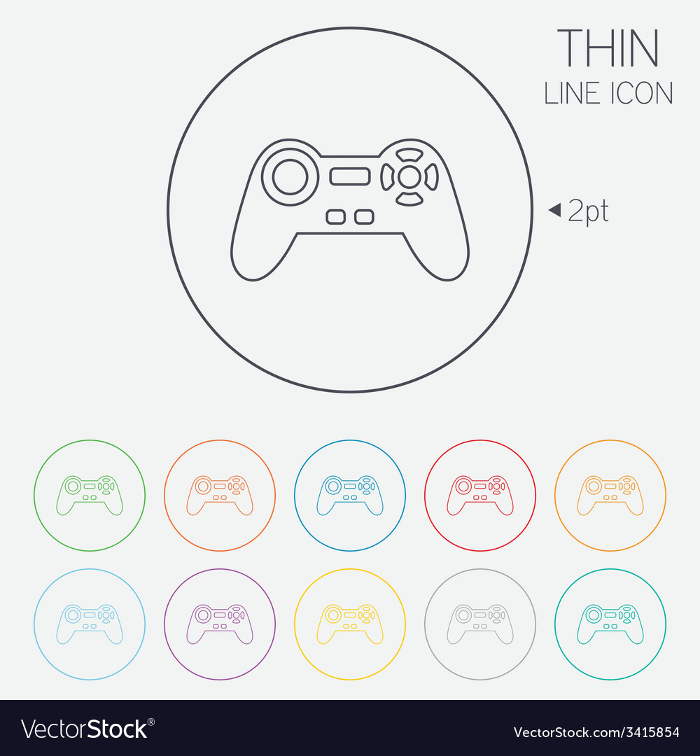 Joystick sign icon video game symbol vector   Price: 1 Credit (USD $1)