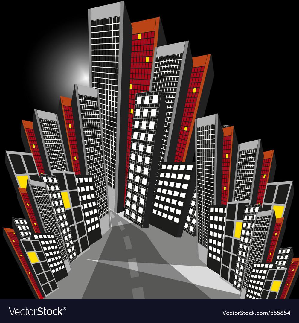 Night city vector   Price: 3 Credit (USD $3)