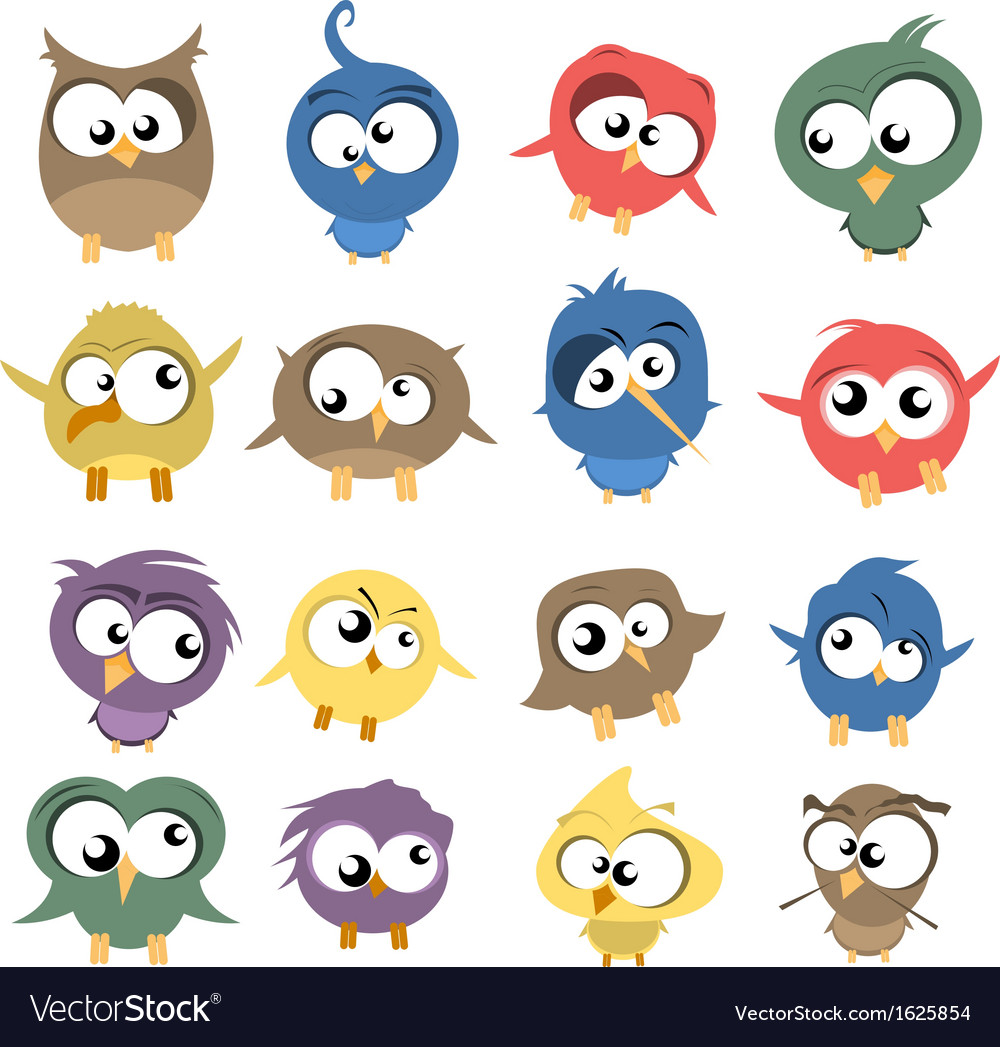 Ugly birds vector | Price: 1 Credit (USD $1)