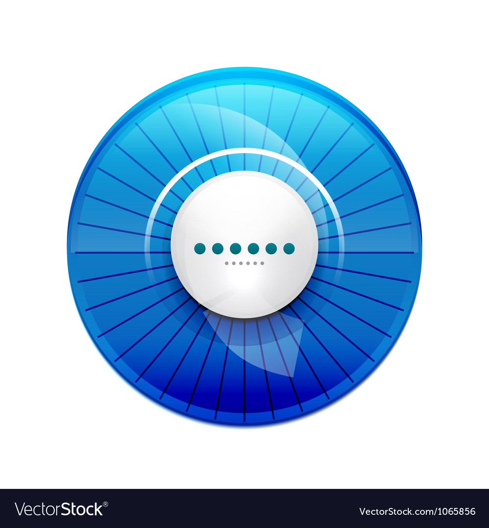 Blue glossy control panel vector | Price: 1 Credit (USD $1)