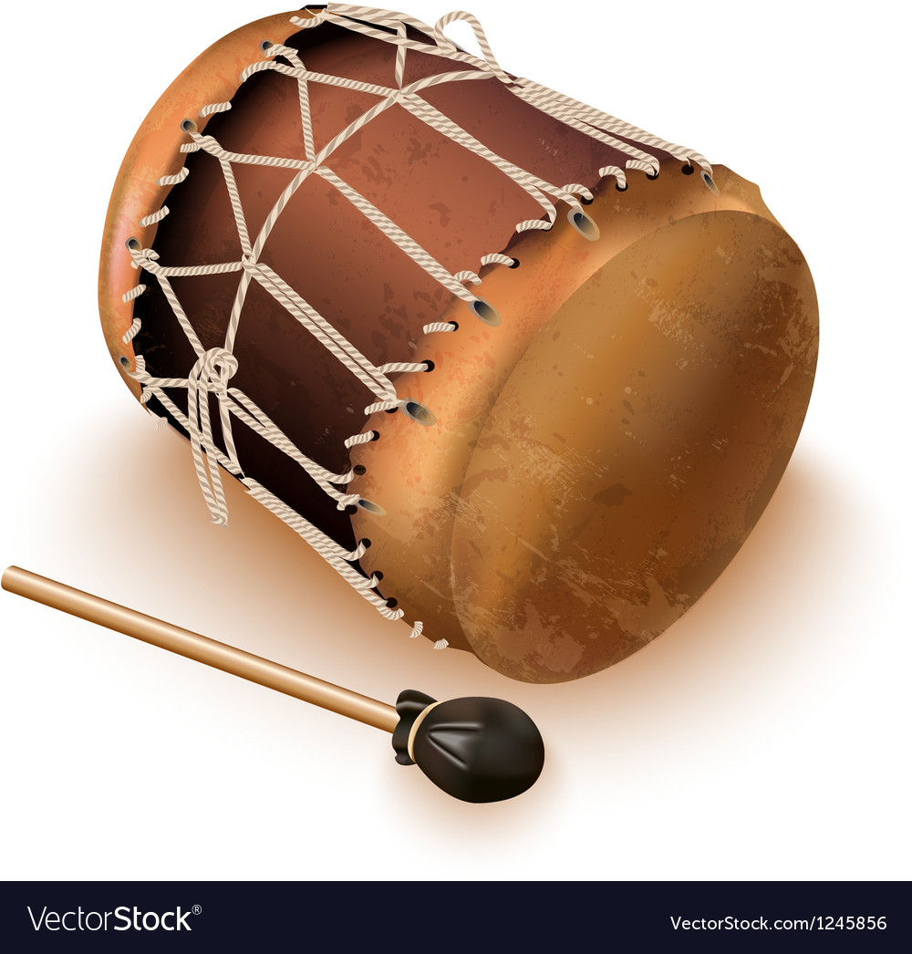 Traditional bungas drums vector | Price: 1 Credit (USD $1)