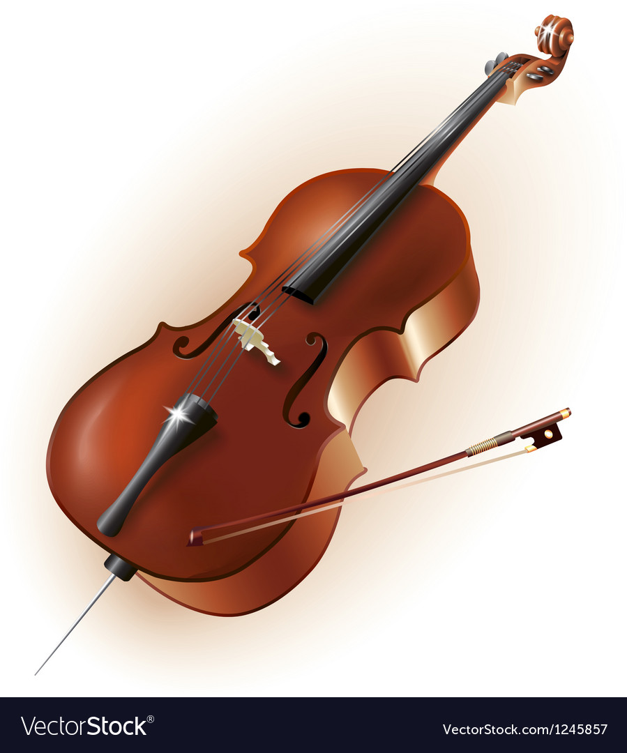 Classical cello vector | Price: 1 Credit (USD $1)