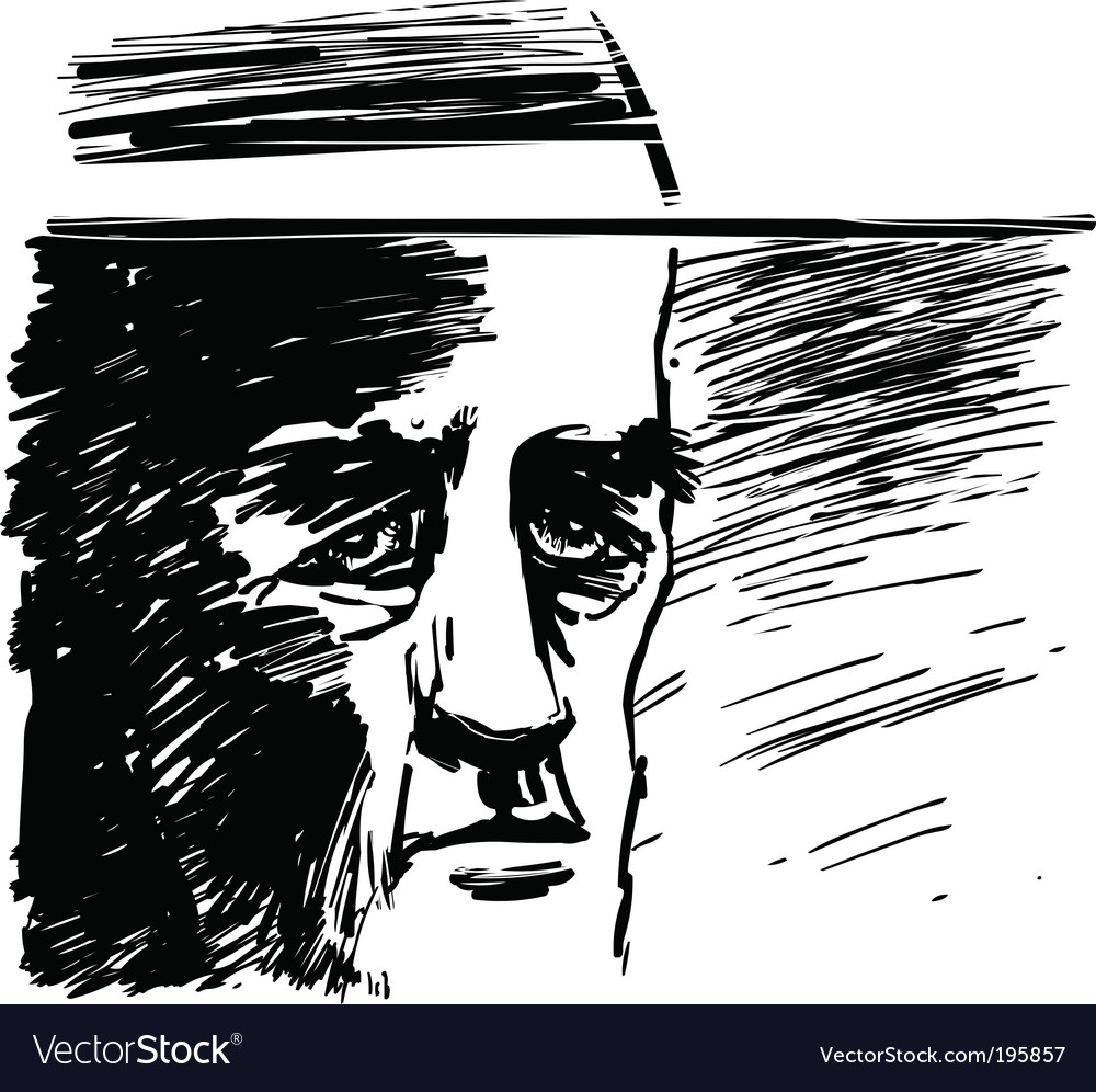 Old priest vector | Price: 1 Credit (USD $1)