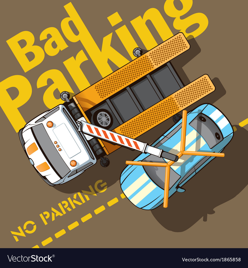Bad parking vector | Price: 1 Credit (USD $1)