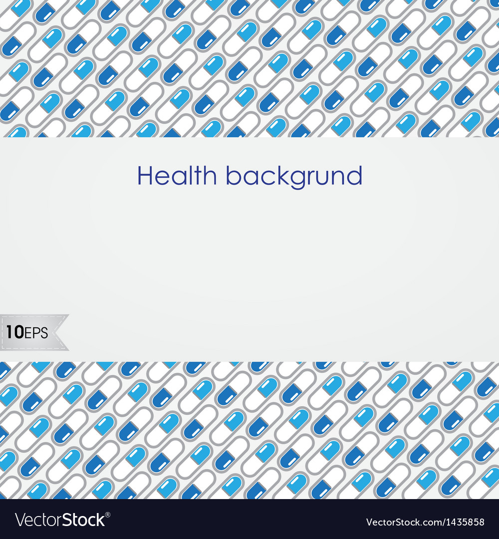 Health background vector | Price: 1 Credit (USD $1)