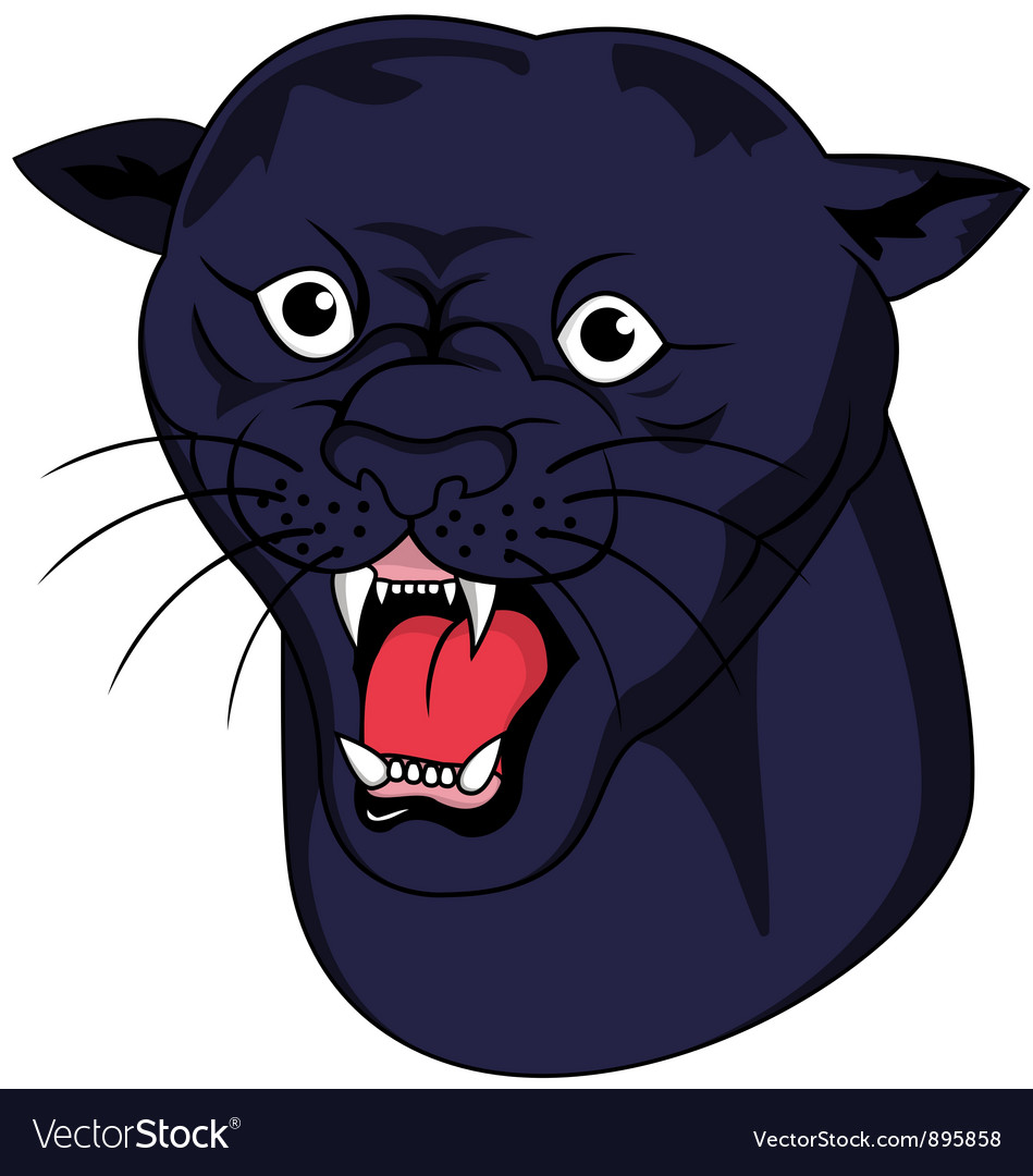 Nice panther head vector | Price: 3 Credit (USD $3)