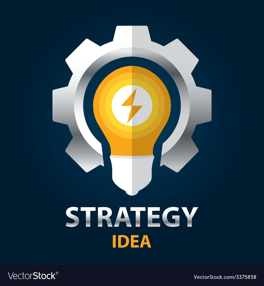 Strategy idea vector | Price: 1 Credit (USD $1)