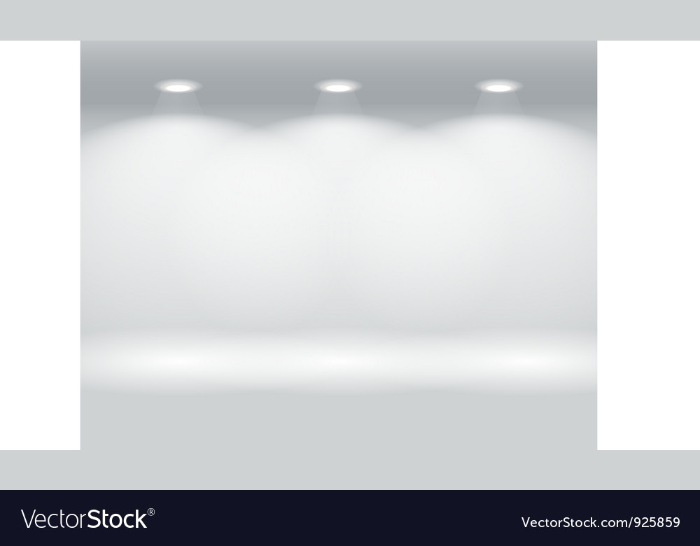 Gallery space vector | Price: 1 Credit (USD $1)