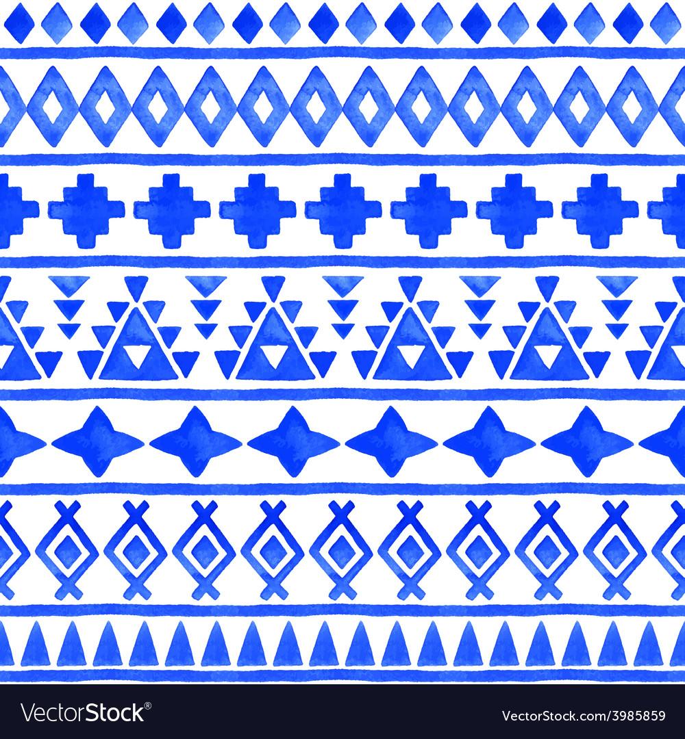 Seamless aztec pattern vector   Price: 1 Credit (USD $1)