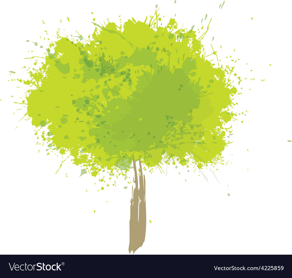 Tree green vector | Price: 1 Credit (USD $1)
