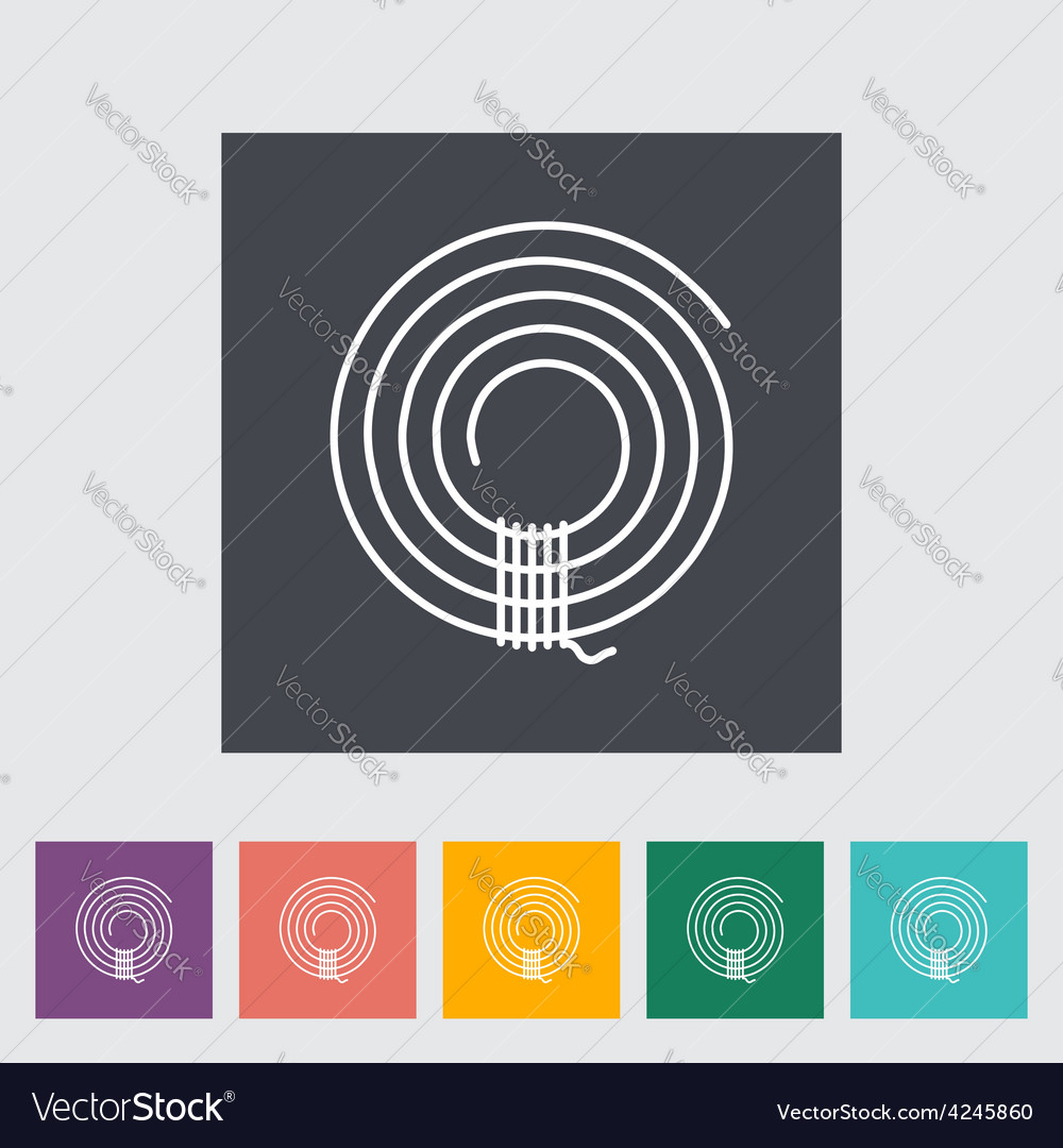 Rope icon vector | Price: 1 Credit (USD $1)