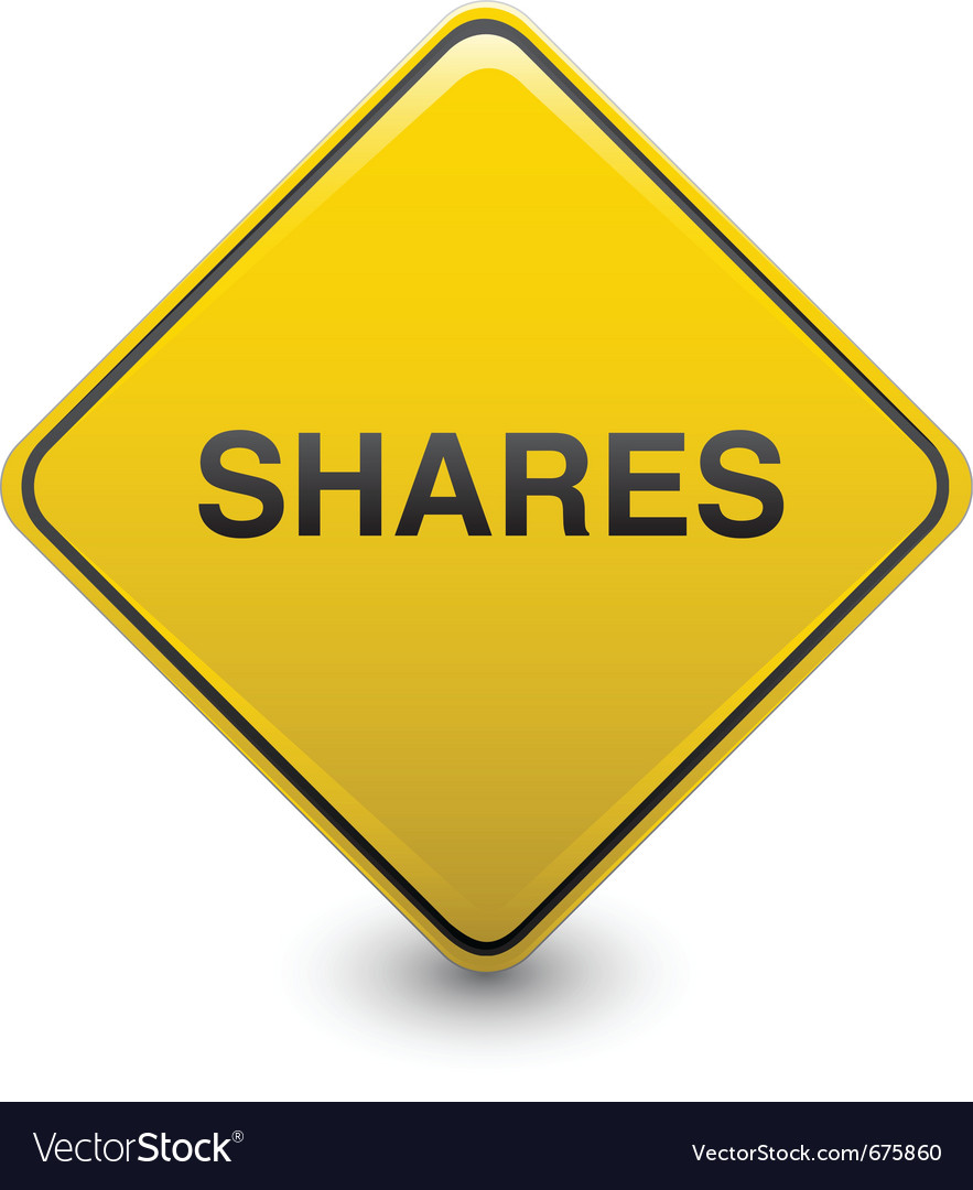 Share warning vector | Price: 1 Credit (USD $1)