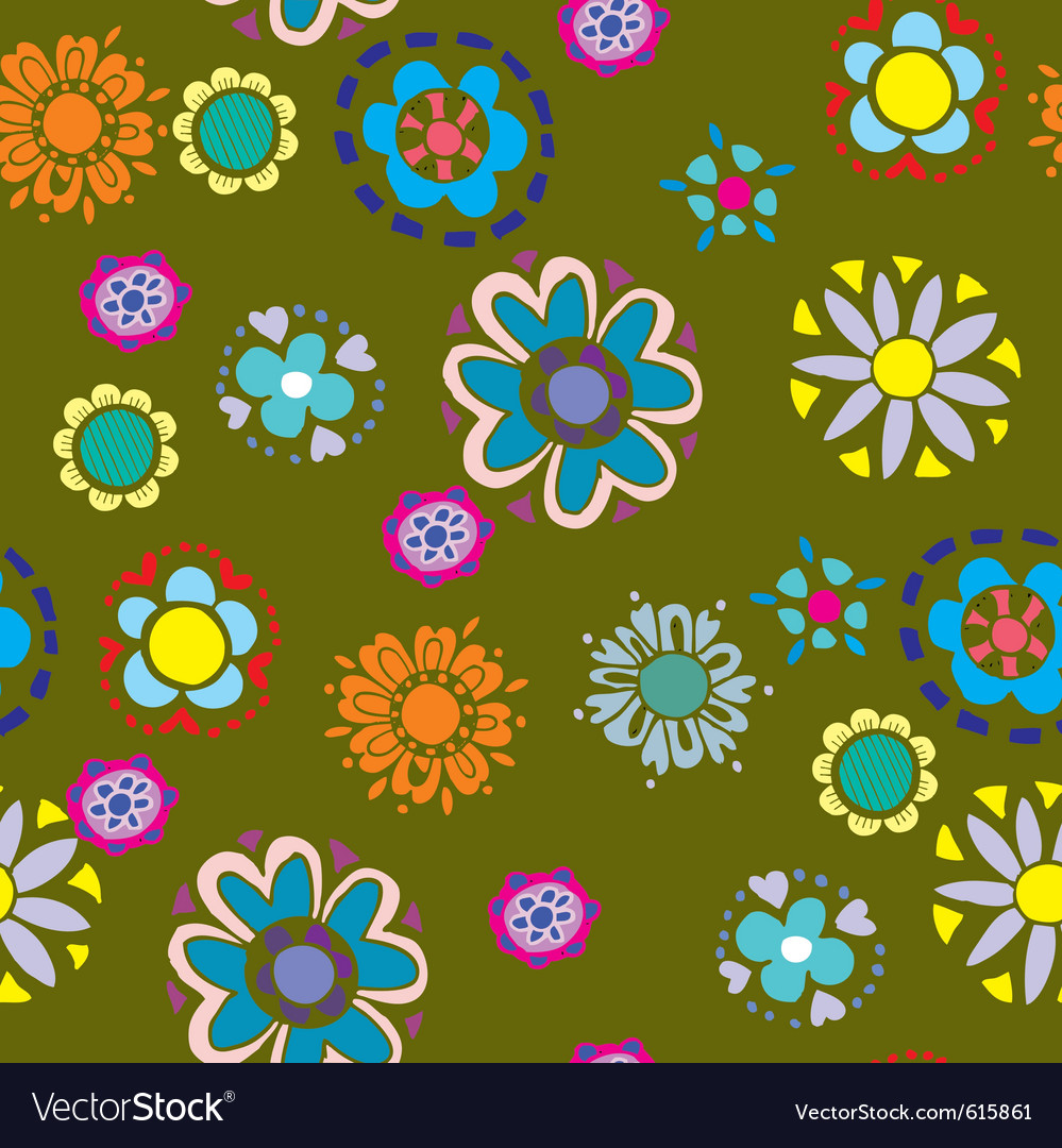 Cutesy scrapbook pattern vector | Price: 1 Credit (USD $1)